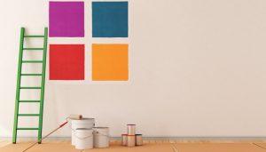 De quanto em quanto tempo temos que renovar a pintura de casa?