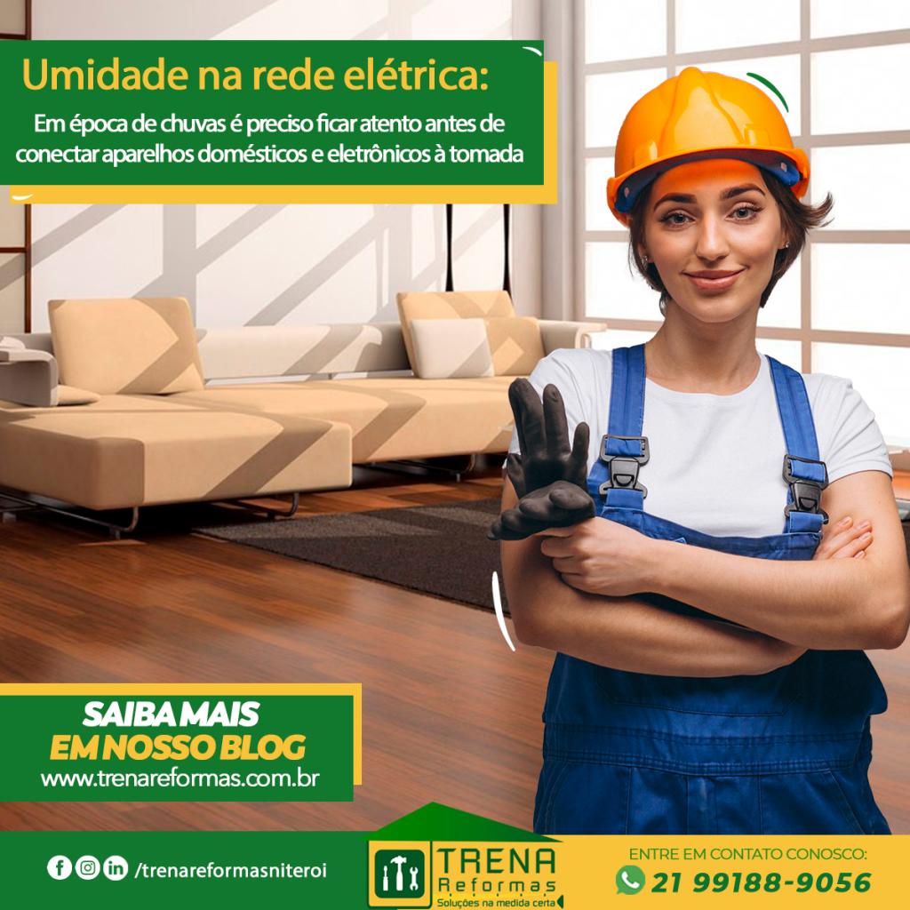 Umidade na rede elétrica – Fique atento!